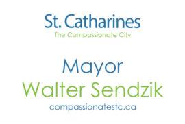 Mayor Sendzik meets with Chief McGuire to discuss Queenston Street community response