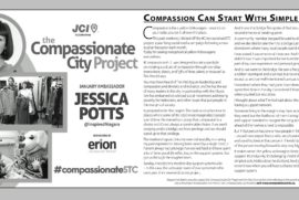 The Compassionate City Project: Compassion can starts with simple acts – Jessica Potts