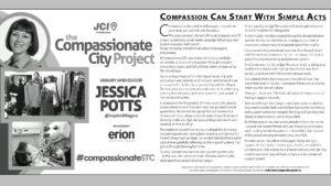 Jessica Potts, CompassionateSTC ambassador