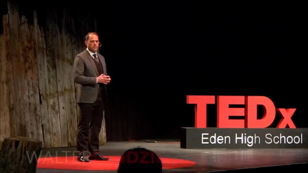 TedX Eden High School Walter Sendzik
