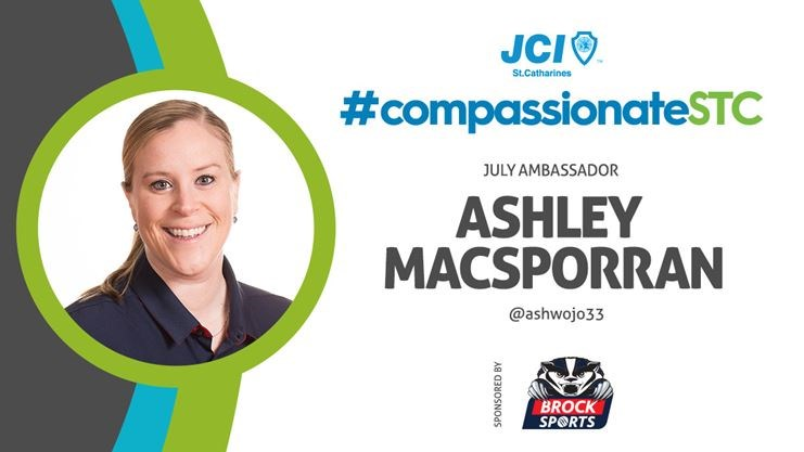 Ashley MacSporran - JCI St. Catharines Compassionate City Project