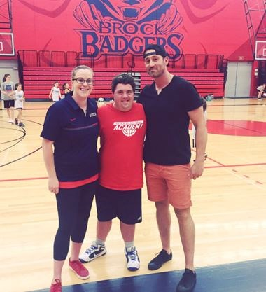 Video: Brock Badgers Basketball Camp