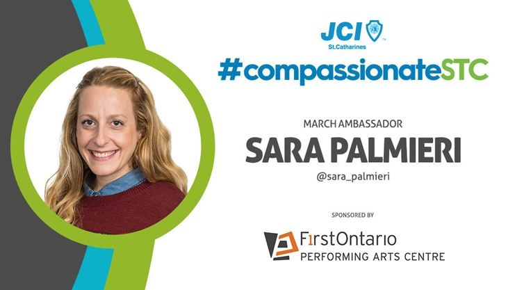 Sara Palmieri, JCI St. Catharines Compassionate City Project