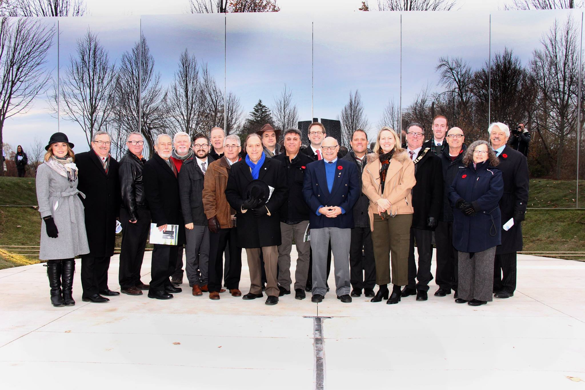 Welland Canal Fallen Workers Memorial Unveiled