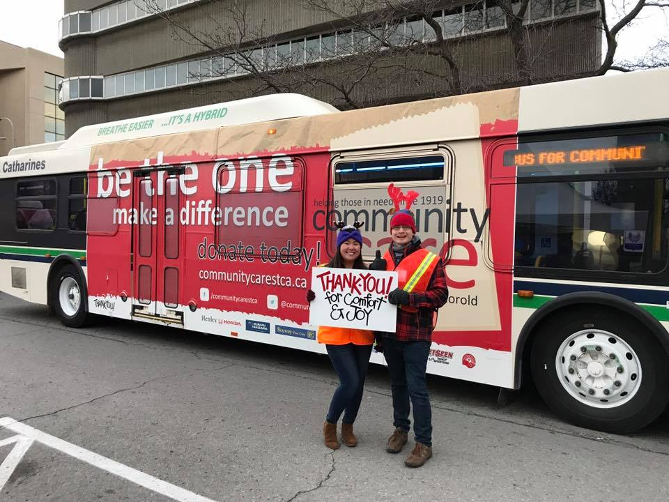 Thank you St. Catharines! The Great Holiday Food Drive