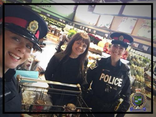 Niagara Regional Police Food Drive