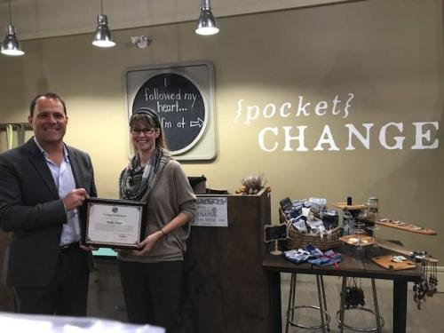 Opening of Pocket Change