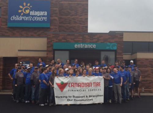 Canadian Tire donation to Niagara Children's Centre