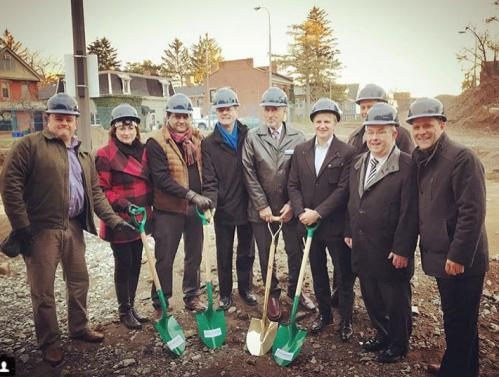 Affordable Housing Ground Breaking